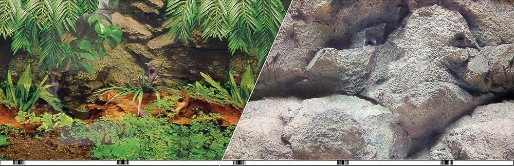 Blue Ribbon Pet Products ABLVSB1119 Rainforest Decorative Background for Aquarium, 19-Inch 50-Feet by Blue Ribbon
