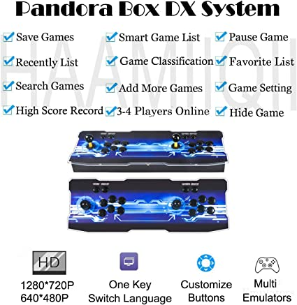 21+ Pandora's Box 5 Game List Background