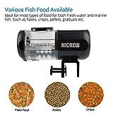NICREW Automatic Aquarium Fish Feeder, Fish Food