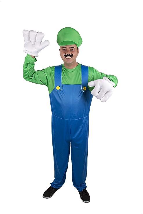 Costumizate! Disfraz de Fontanero Italiano Adulto Especial para ...