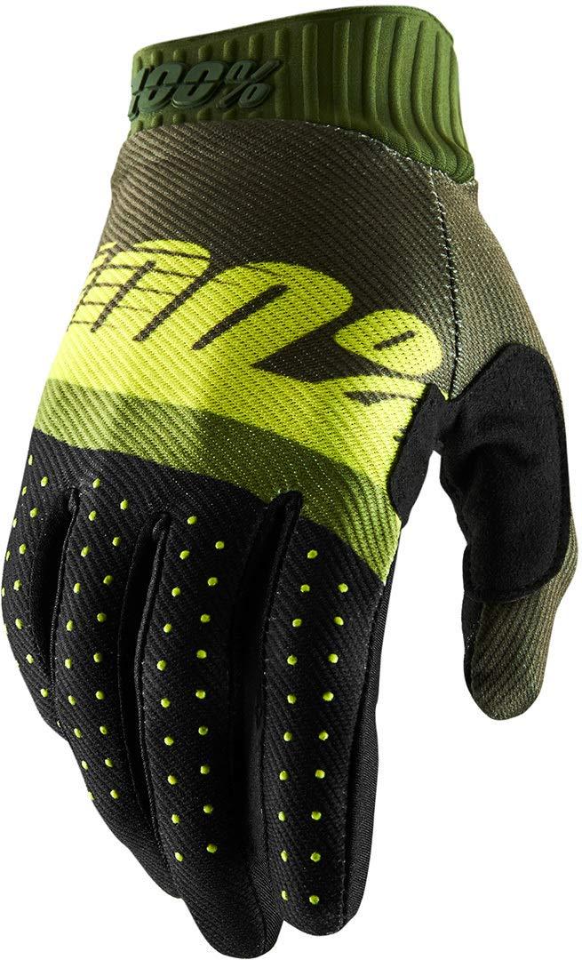 Sconosciuto 100/% guanti da adulto Ridefit verde lime neon, L
