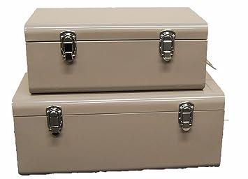 Set Von 2 Stowaway Boxen Set Von 2 Grosse Aufbewahrungsboxen Aus