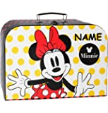 pappkoffer kinderkoffer minnie mouse mit name. Black Bedroom Furniture Sets. Home Design Ideas