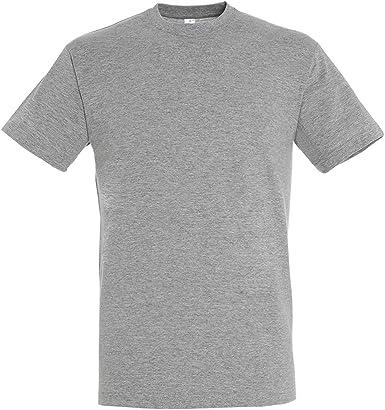 MARNAULA Pack 25-50 o 100 Camisetas Grises 100% Algodon Unisex ...