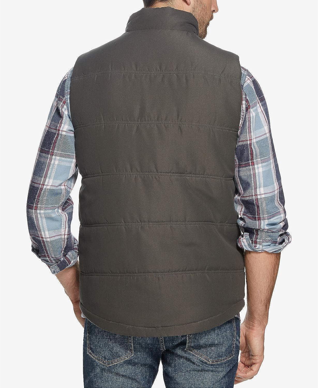 Weatherproof Mens Quilted Puffer Vest