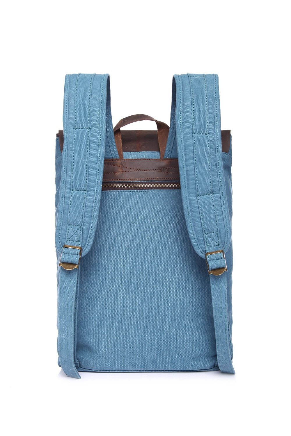 Color : Blue, Size : M DAYIYANG Special Design Mens Backpack Canvas Retro Student Backpack Fashion Travel Leisure Backpack