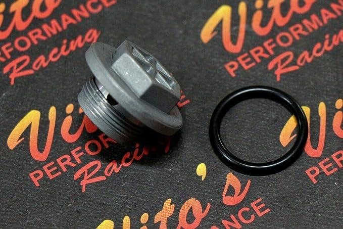 Moose Magnetic Float Bowl Drain Nut for Keihin DP117