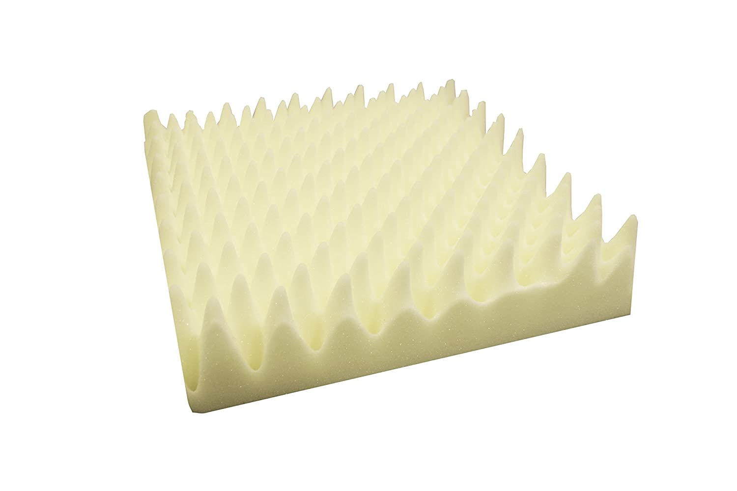 "Rehabilitation Advantage Convoluted Egg Crate Foam Cushion 4"" Thick X 18"" Wide X 18"" Deep Richardson Products Inc. 4332477206"