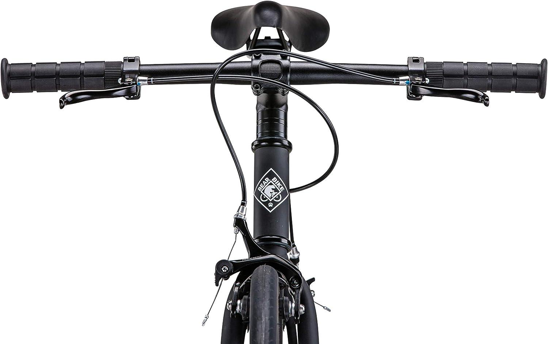 Amazon.com : Bear Bike Madrid Fixed Gear Single-Speed Fixie ...