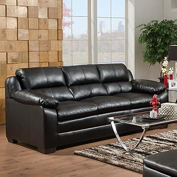 Cool Amazon Com Simmons Upholstery 5066 Soho Bonded Leather Sofa Frankydiablos Diy Chair Ideas Frankydiabloscom