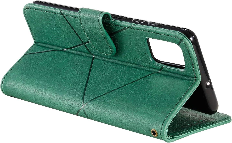 Lomogo Galaxy A51 H/ülle Leder Schutzh/ülle Brieftasche mit Kartenfach Klappbar Magnetisch Sto/ßfest Handyh/ülle Case f/ür Samsung Galaxy A51 LOHHA150456 Braun