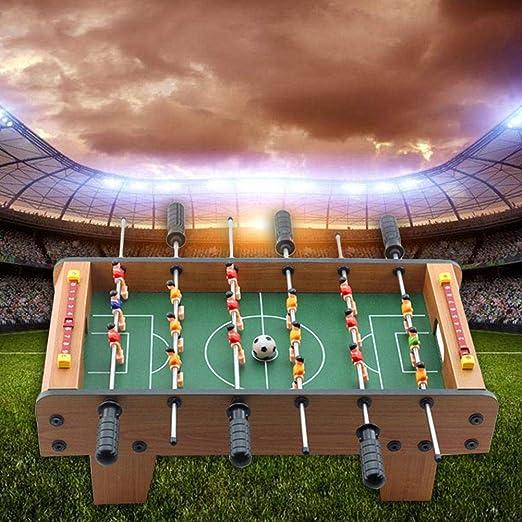 HoneybeeLY Mini Juegos de fútbol, fútbol de Mesa, Estadio de Super fútbol, Juego analógico, Bola de Comida de Escritorio, fútbol de Mano: Amazon.es: Hogar
