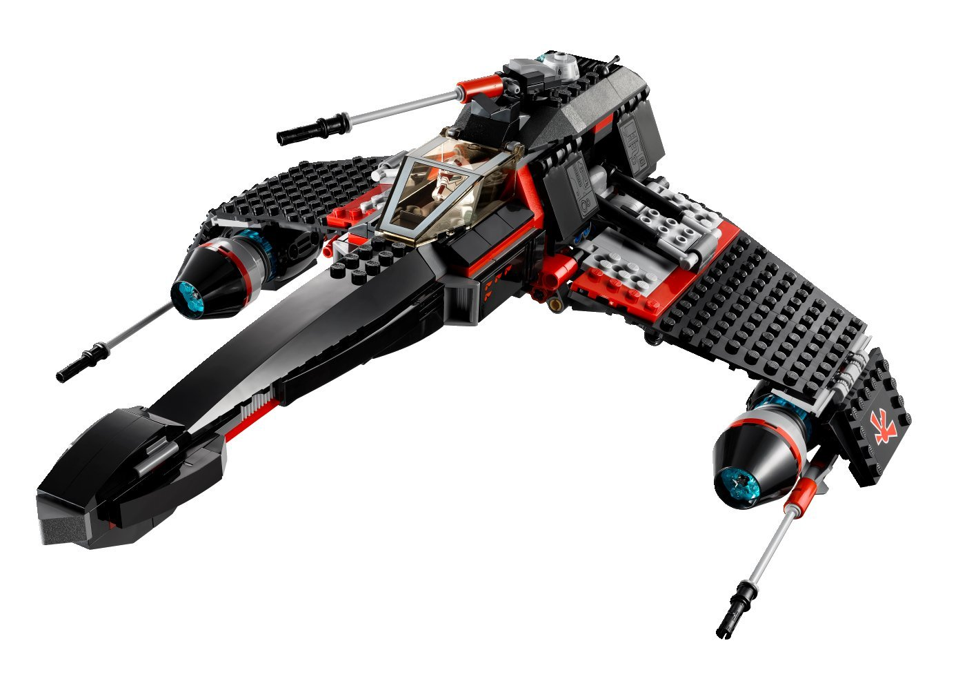 Star Wars Lego 75018 JEK-14's Stealth Starfighter | Star War… | Flickr