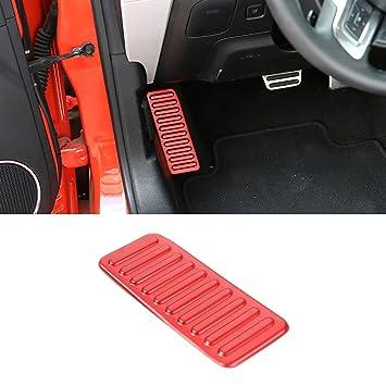 amazon com kaizen footrest pedal cover left foot rest pad cover car