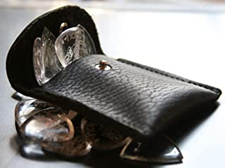 product image for V-PICKS Leather Black Pouch