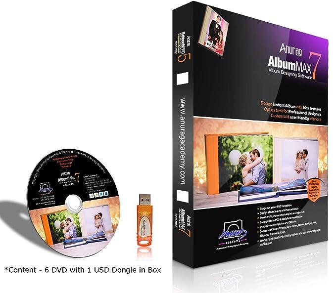 Anurag Album Max 7 (Album Designing Software) Single User