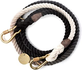 product image for Found My Animal Adjustable Brass Leash - Black Fade - Small
