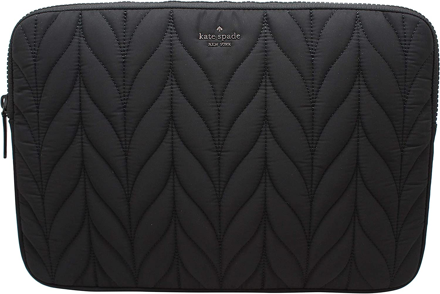 Kate Spade New York Ellie Universal Quilted Laptop Case Sleeve Black 15""