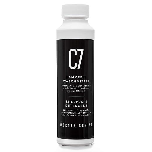 Detergente especial para piel de cordero C7 de WERNER CHRIST ...