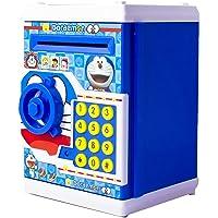 Shade of Toys Mini Electric Secret Password Safe ATM Piggy Bank Money Safe Deposit Box Toy