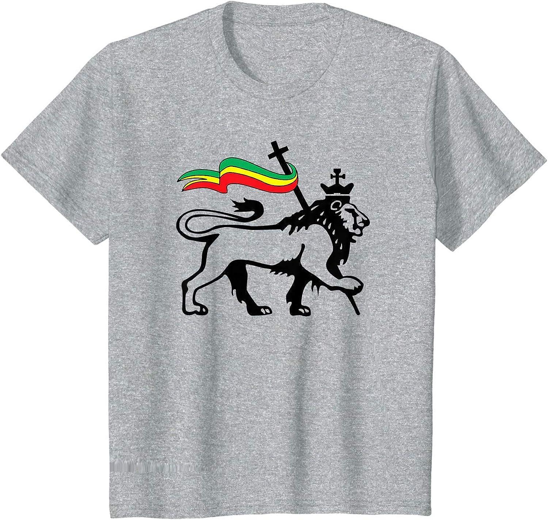 ryudryu Lion of Judah Patch Rasta Merch Reggae Tshirt ...