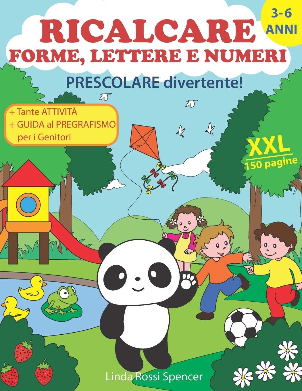 Ricalcare Forme, Lettere e Numeri
