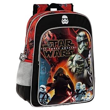 Disney 25923A1 Star Wars Battle Mochila Escolar, 19.2 litros, Color Negro: Amazon.es: Equipaje