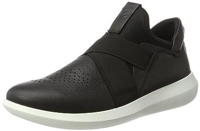 Ecco Scinapse, Sneakers Basses Homme, Noir (Black/Black), 44 EU