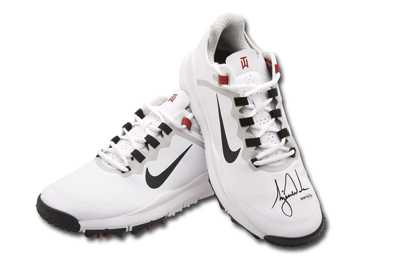 Upper Deck UDA Tiger Woods Autographed Nike White