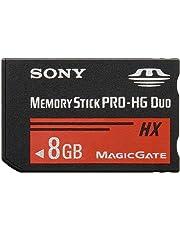 Sony MSHX8B Carte mémoire Memory Stick PRO Duo 8 Go (Lecture jusqu'à 50 Mo/s)