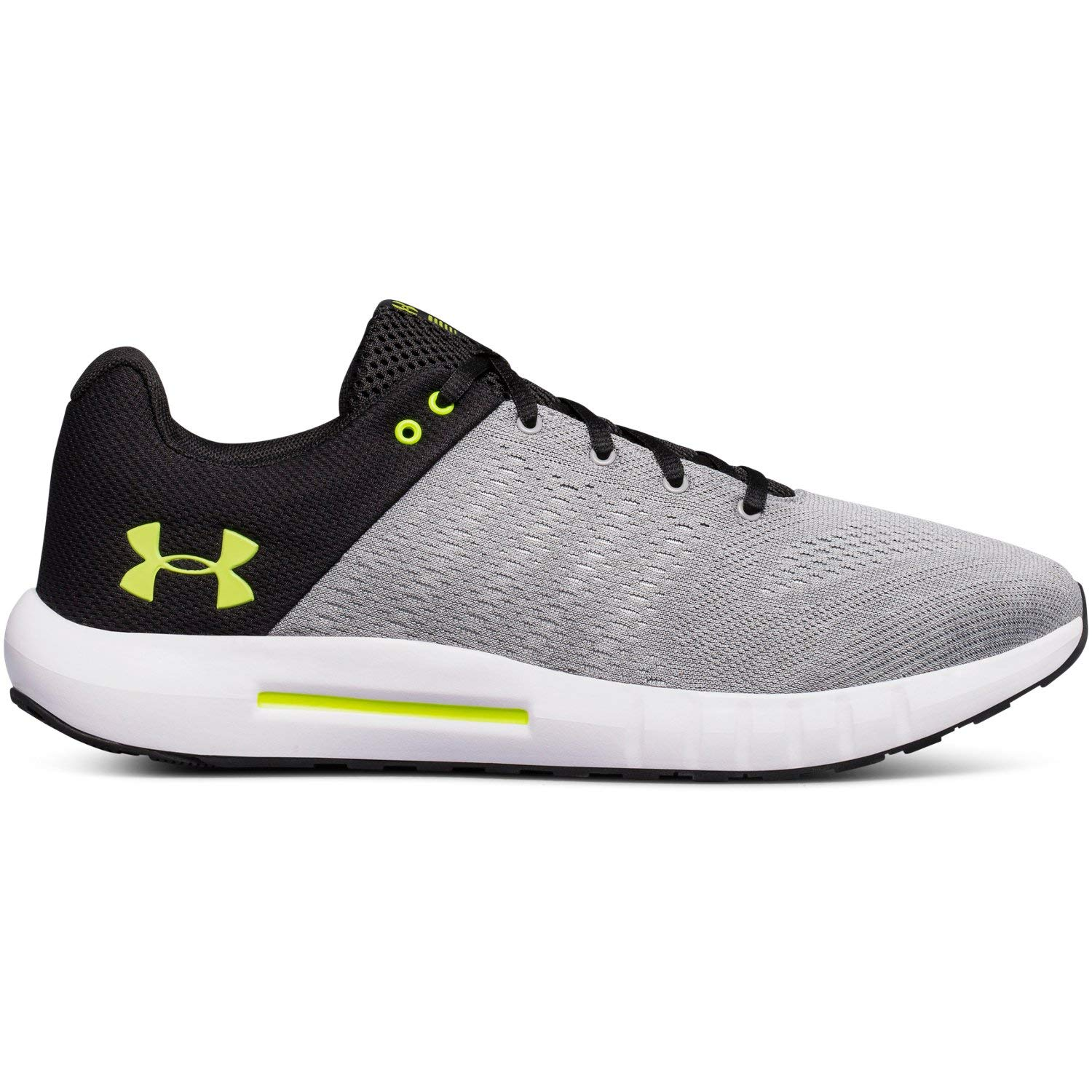 Under Armour Men's Micro G Pursuit-Wide, Steel (101)/Rhino Gray, 11.5 by Under Armour