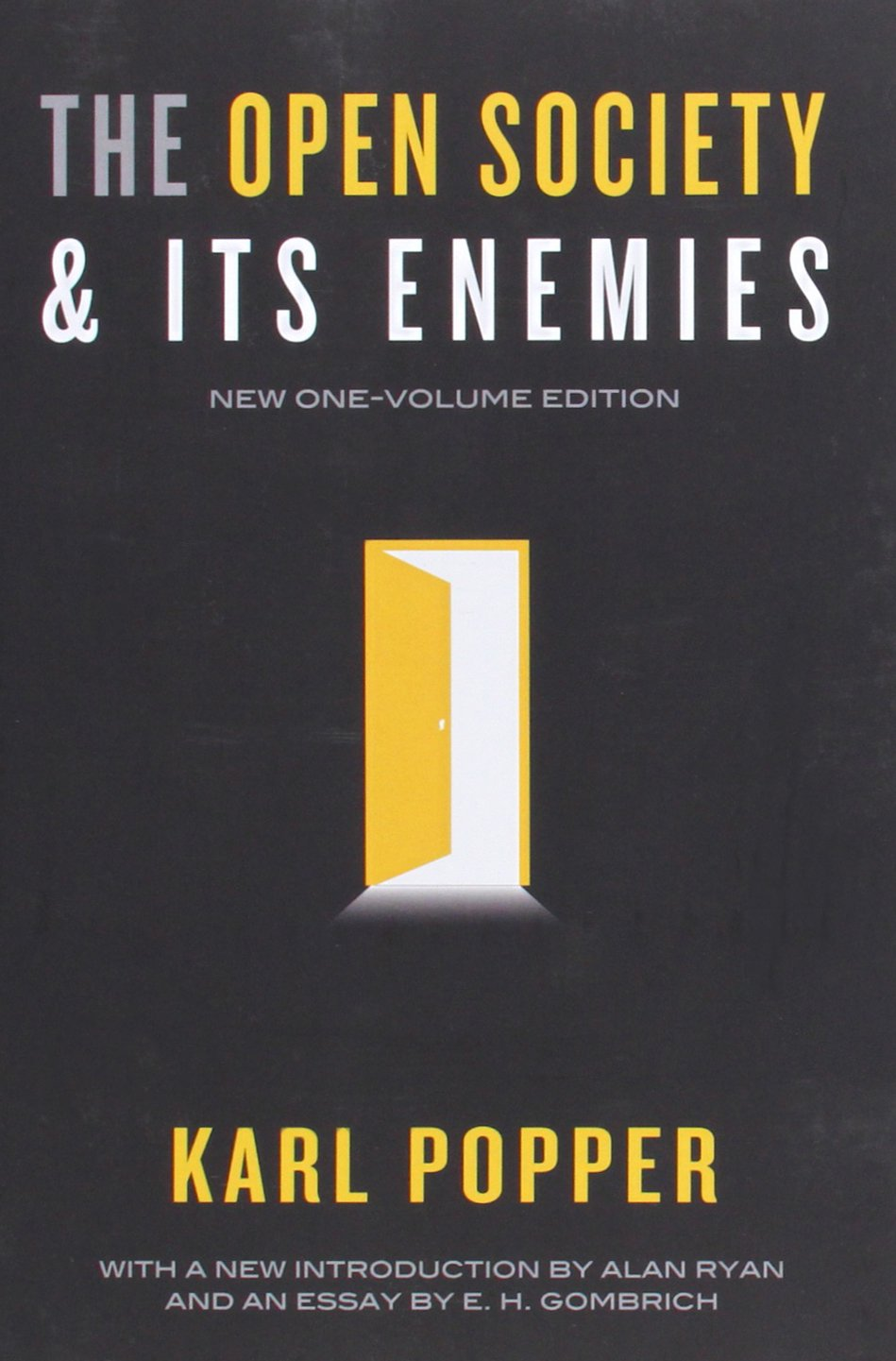 The Open Society And Its Enemies: Karl R Popper, Alan Ryan, E H  Gombrich: 9780691158136: Amazon: Books
