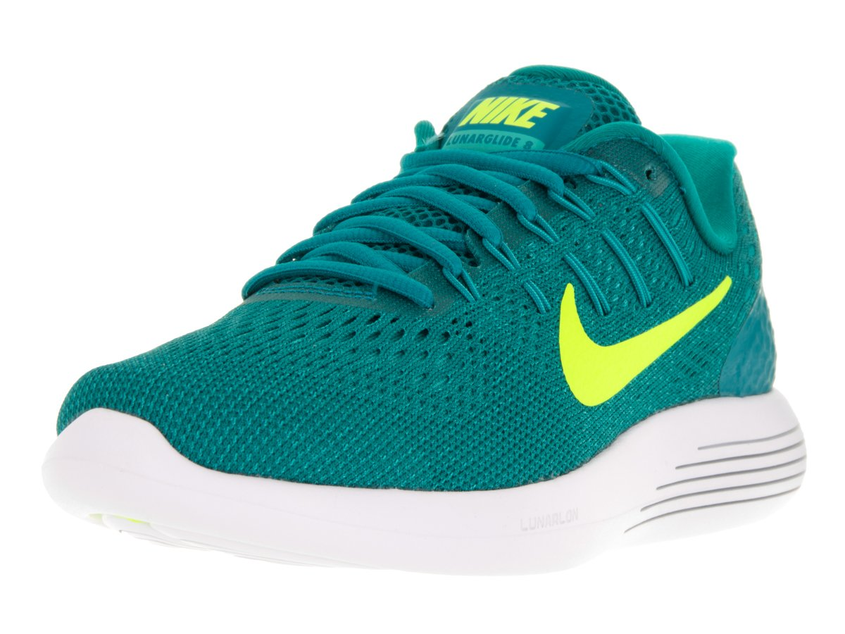 d52bbcac00a3 Galleon - NIKE Women s Lunarglide 8 Rio Teal Volt-Clear Jade-Midnight  Turquoise Ankle-High Mesh Running Shoe - 8M