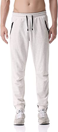 Pau1Hami1ton PH-24 - Pantalones de chándal para hombre - Beige ...