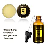 Beard Grooming Kit,5-in-1,Unscented Beard Oil and