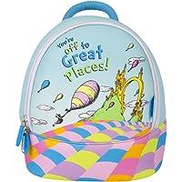 Oh The Places (Emotive) Mini Backpack Bag Kids Fun Neoprene Insulated Preschool Day Care Bag