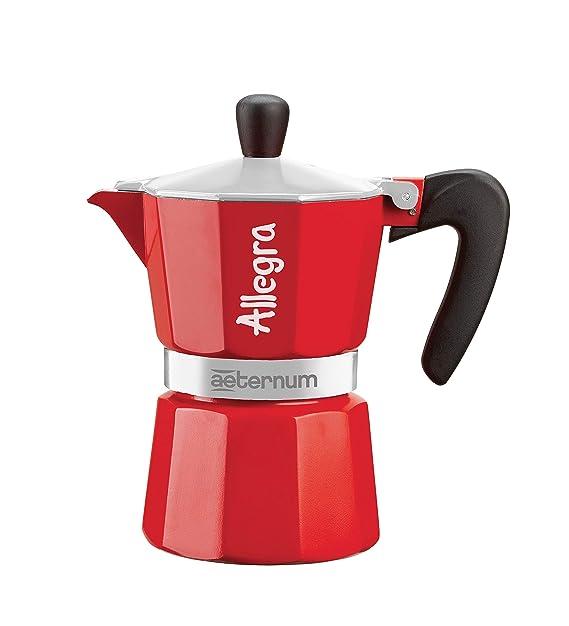 Bialetti - Cafetera Espresso Allegra para una taza, aluminio ...