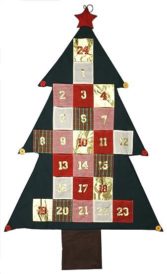 Adventskalender geschenke aufhangen
