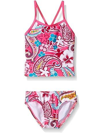 8f5bf9f049 Kanu Surf Girls' Summer Dream Tankini Swimsuit