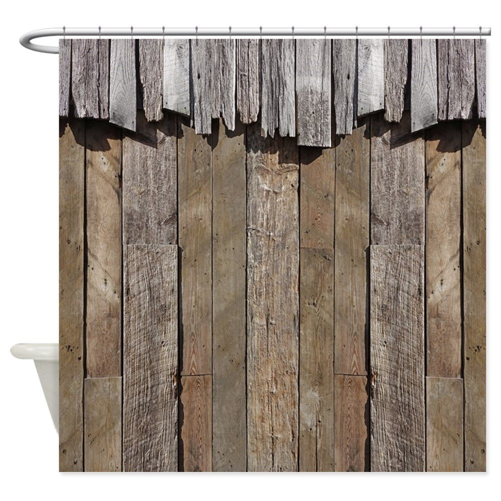 desktop rustic bathroom shower of designs androids hd pics mbj cafepress old barn wood curtain