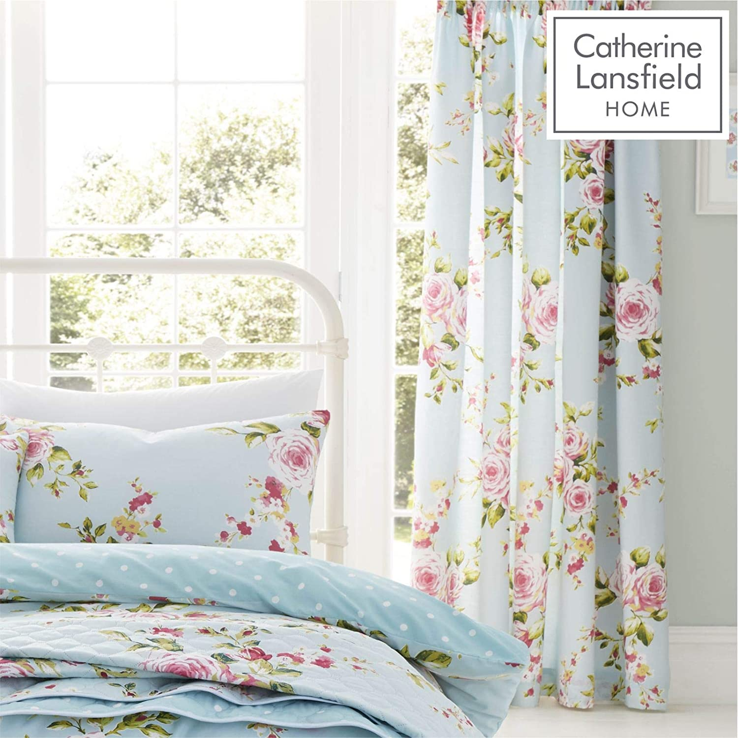 Catherine Lansfield Couvre-lit Canterbury 240/x/260/cm.
