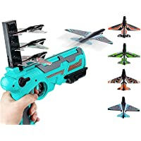2021 New Hot Toy Catapult Plane,Aircraft Model Supplement Pack。Bubble Catapult Plane Toy Airplane。12 Foam Model Boards and 6 Model Keels。