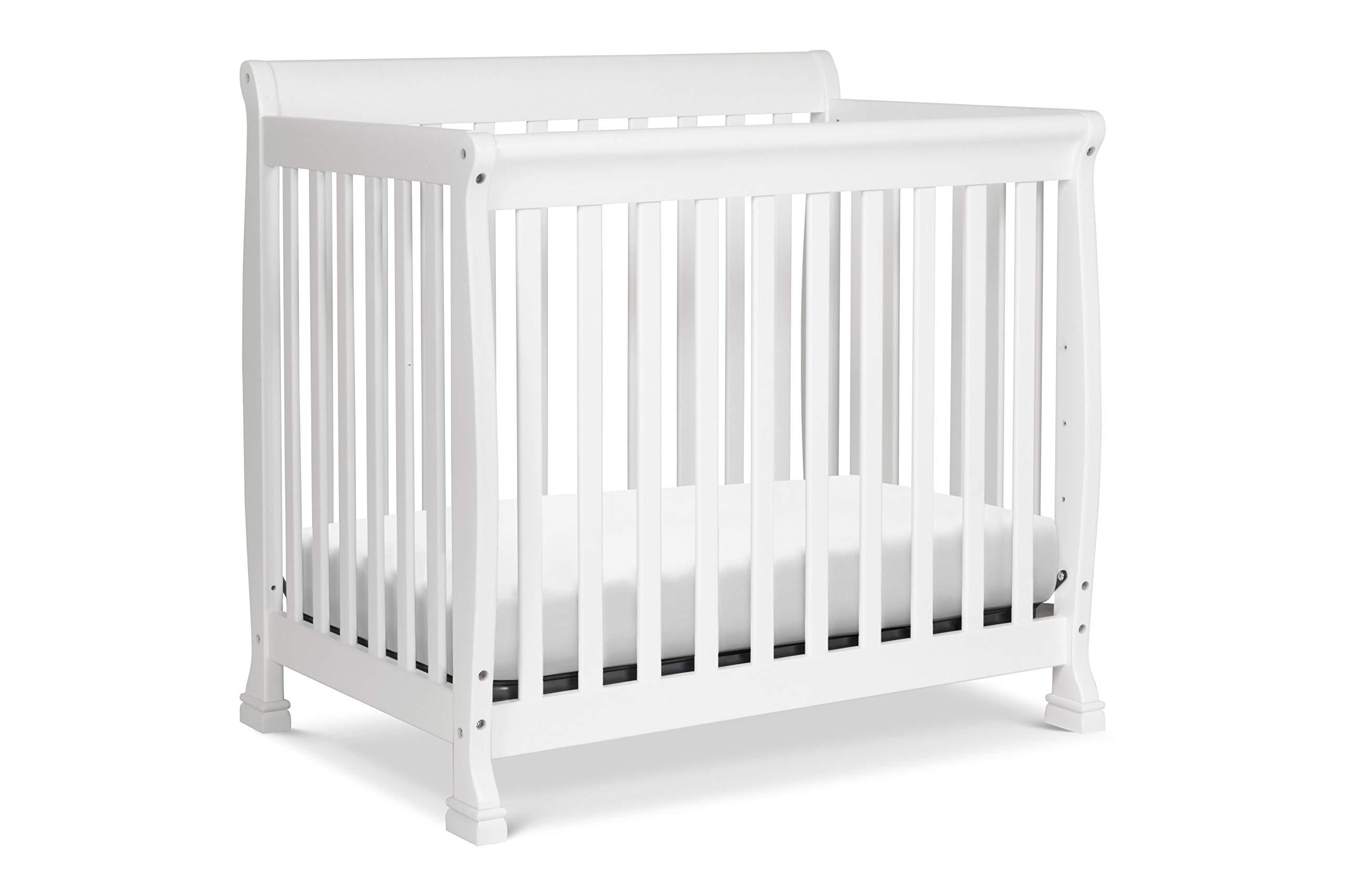 Davinci Mini Crib Twin Bed Low Profile Non Toxic Pine Wood