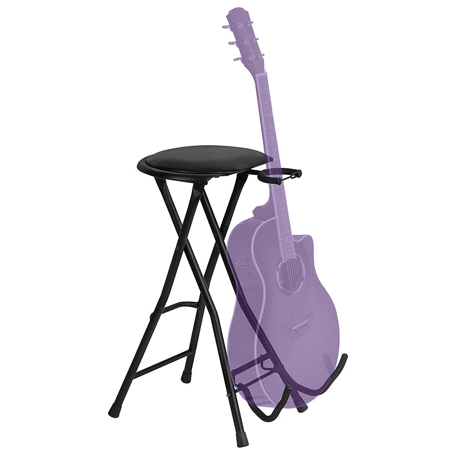 On-Stage DT7500 Guitarist Stool with Footrest On Stage