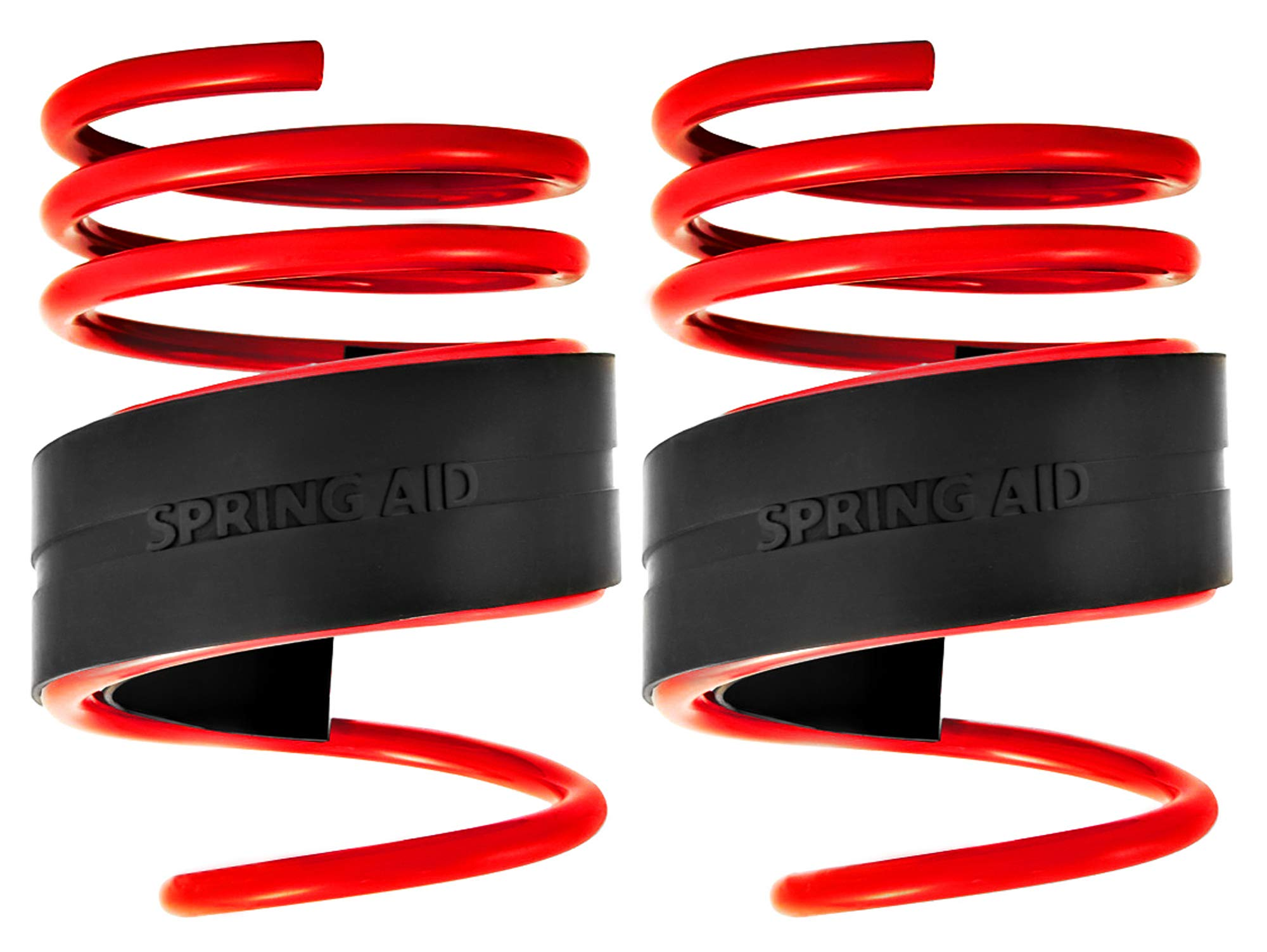 39-51mm Gap Coil Spring Assister Supports Suspension Towing Caravan Heavy Loads