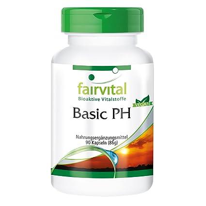 PH Basic - VEGANO - Altamente dosificado - 90 cápsulas - Bases de Cápsulas con Calcio