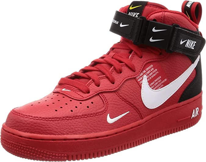 Nike Air Force 1 Mid '07 Lv8, Chaussures de Basketball Homme