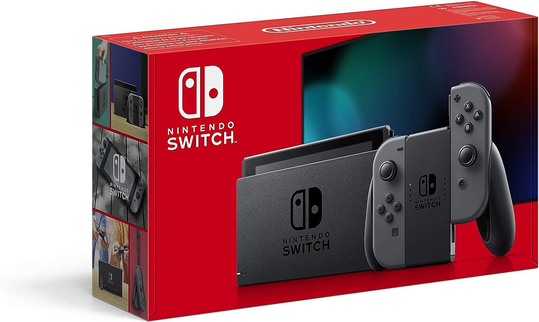 Nintendo Switch - Consola Estándar - Gris: Nintendo: Amazon.es: Videojuegos