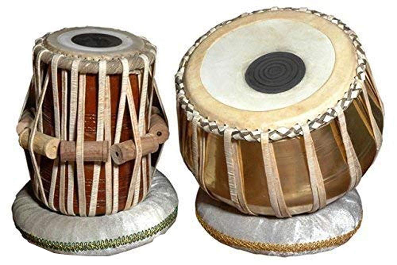 限定版 Makan & Best Handmade Indian Professionals Handmade Brass & Wood Cushion Bayan & Dayan Tabla Drum Set Percussion Musical Instrument with Carry Bag & Cushion B07QCSN62G, 漆芸 よした華正工房:898fb9cc --- a0267596.xsph.ru