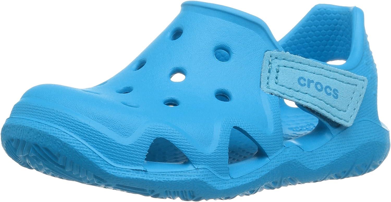 Crocs Swiftwater Wave K Sandales Bout ferm/é Mixte Enfant